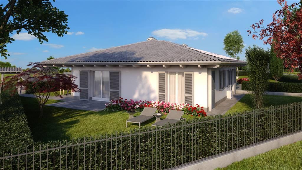 OSIO SOTTO, Doppelhaus zu verkaufen von 136 Qm, Neubau, Heizung Bodenheizung, Energie-klasse: A3, am boden Land, zusammengestellt von: 4 Raume,