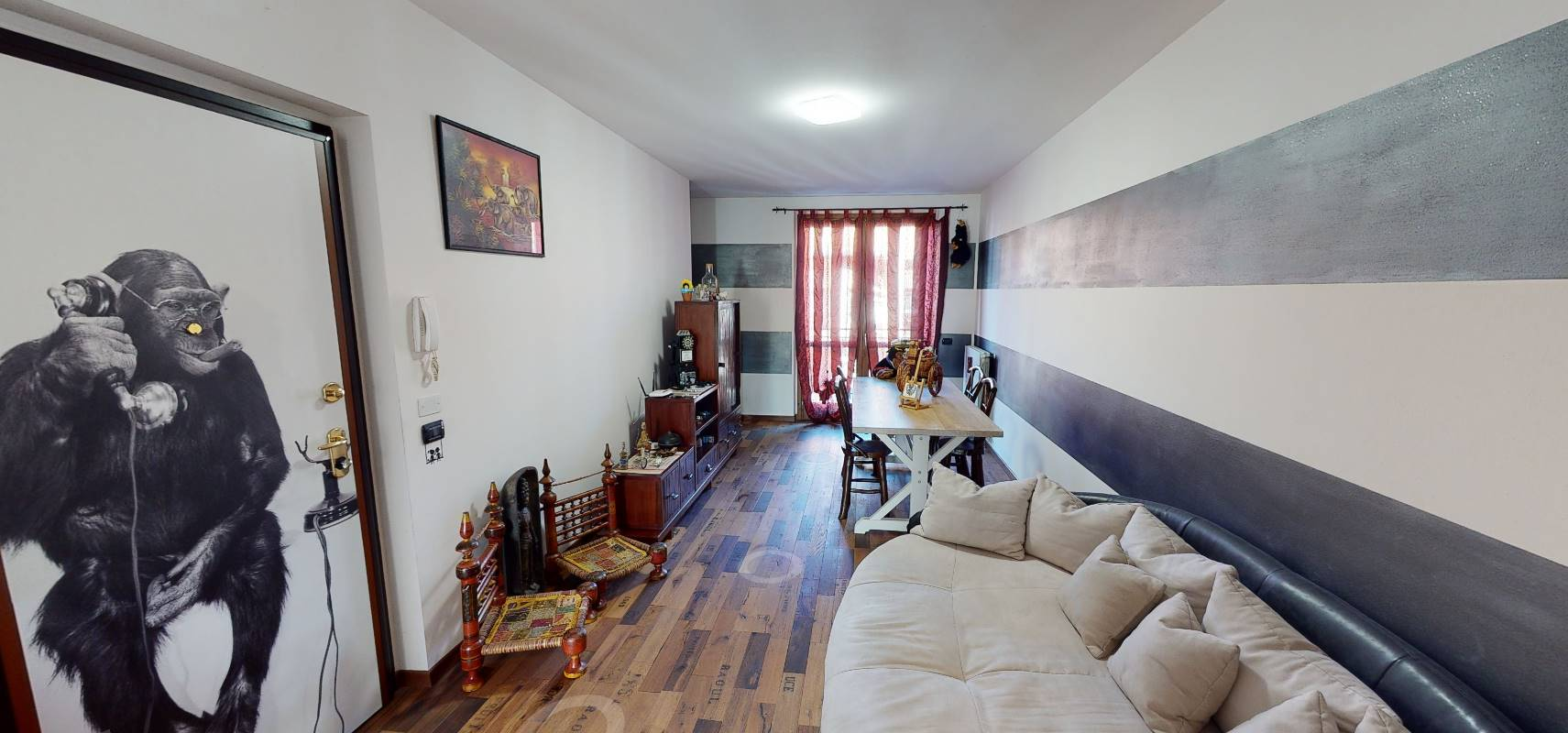 MORNICO AL SERIO, Apartment for sale of 110 Sq. mt., Excellent Condition, Heating Individual heating system, Energetic class: B, Epi: 39,1 kwh/m2