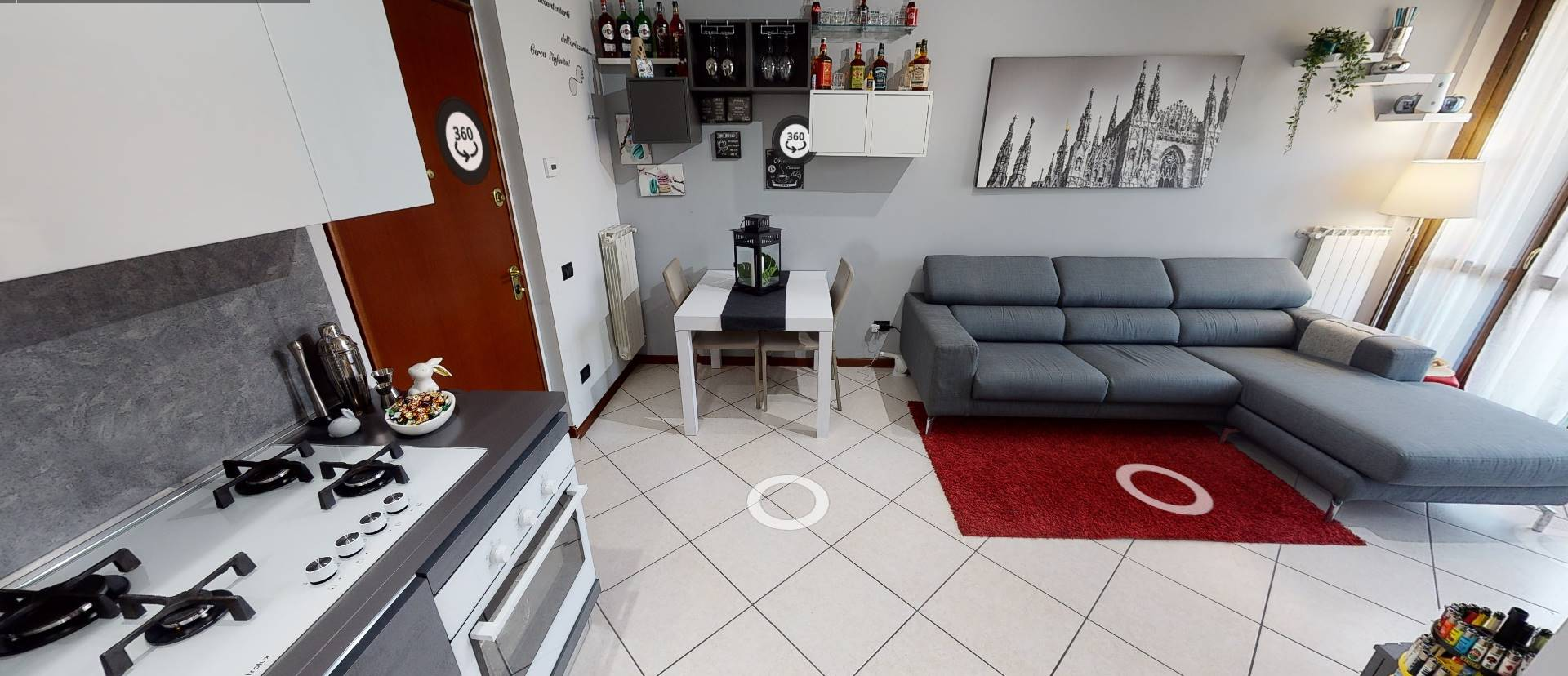 OSIO SOTTO, Apartment for sale of 58 Sq. mt., Excellent Condition, Heating Individual heating system, Energetic class: D, Epi: 99,91 kwh/m2 year,