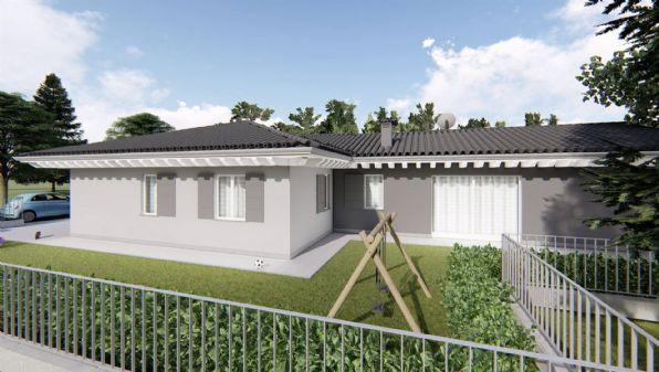 Villa su unico piano in vendita a Pognano Bergamo/Treviglio L'unità in oggetto una villa singola disposta su unico piano con autorimessa al piano