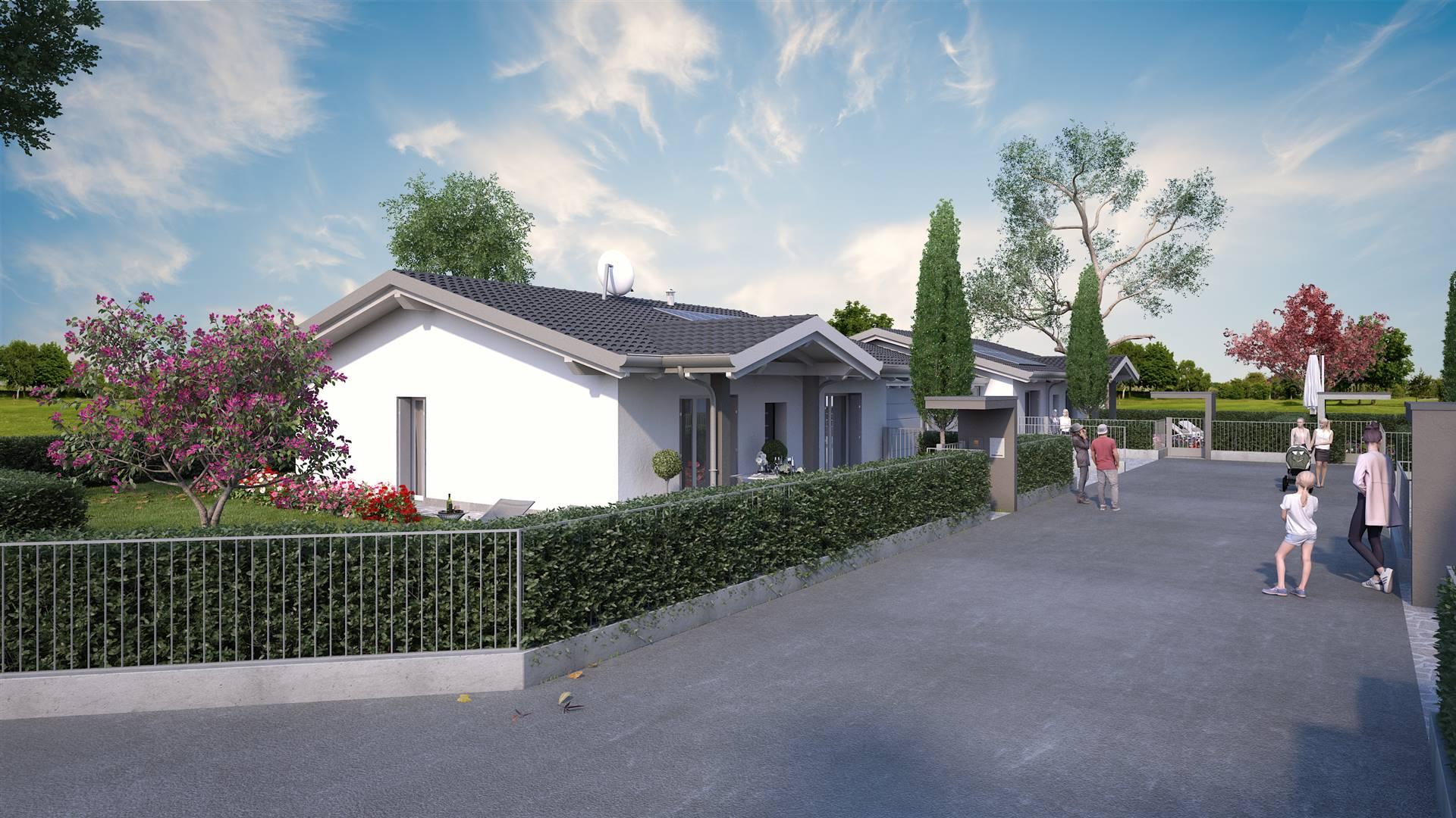 La tua casa perfetta a Ghisalba! Se cerchi eleganza, atmosfera, confort, modernità e sicurezza è in realizzazione una speciale villa bifamiliare