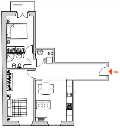 Appartamento in vendita a Firenze, 3 locali, zona Località: LUNGARNO CRISTOFORO COLOMBO, prezzo € 295.000 | CambioCasa.it