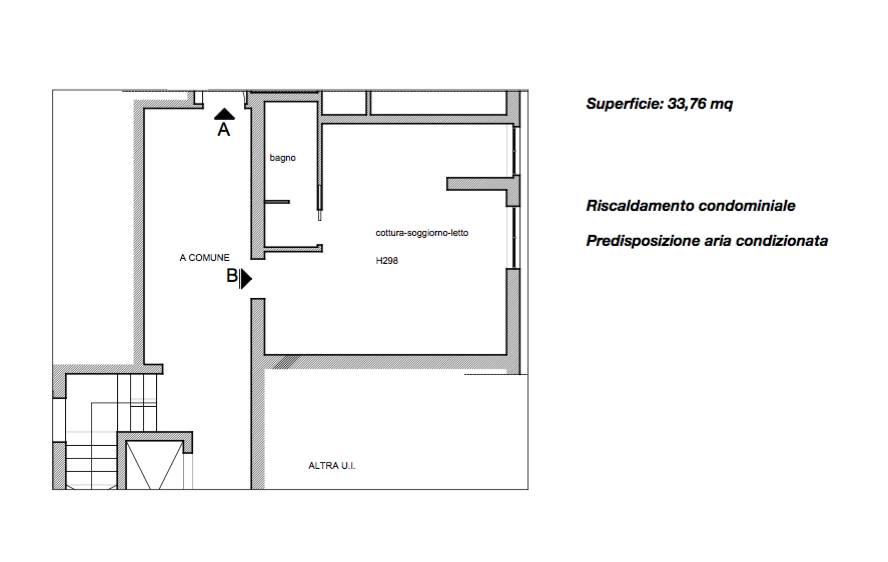 Appartamento in vendita a Firenze, 1 locali, zona Zona: 15 . Campo di Marte, Pagano, Amendola, Paolo Sarpi, Arena, prezzo € 168.000 | CambioCasa.it