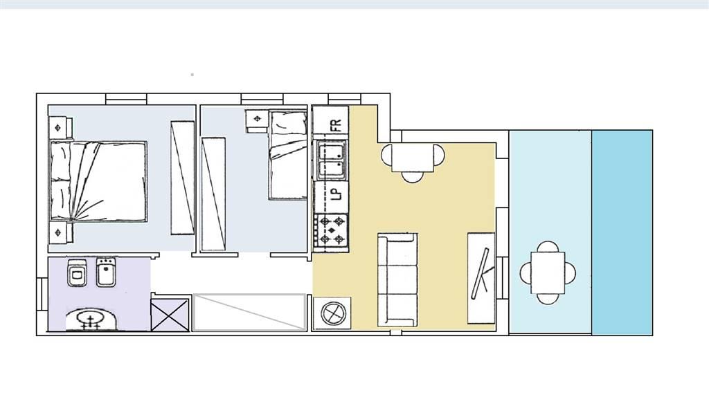 Appartamento indipendente, Olbia Città, Olbia, in ottime condizioni