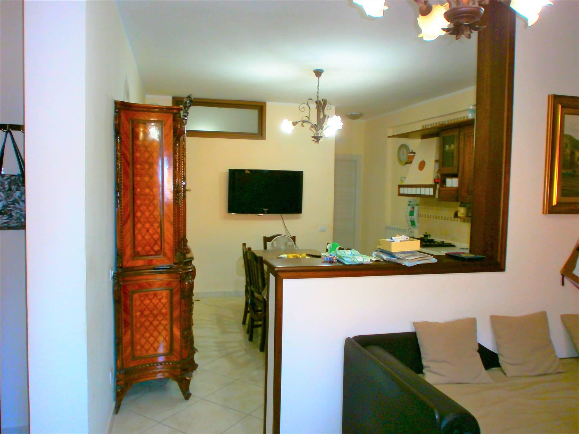 Al Corso de Gasperi di C/mare, proponiamo in fabbricato di recentissima costruzione, un appartamento al piano attico servito da ascensore, composto