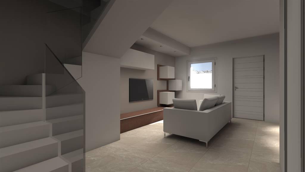 3D cucina soggiorno