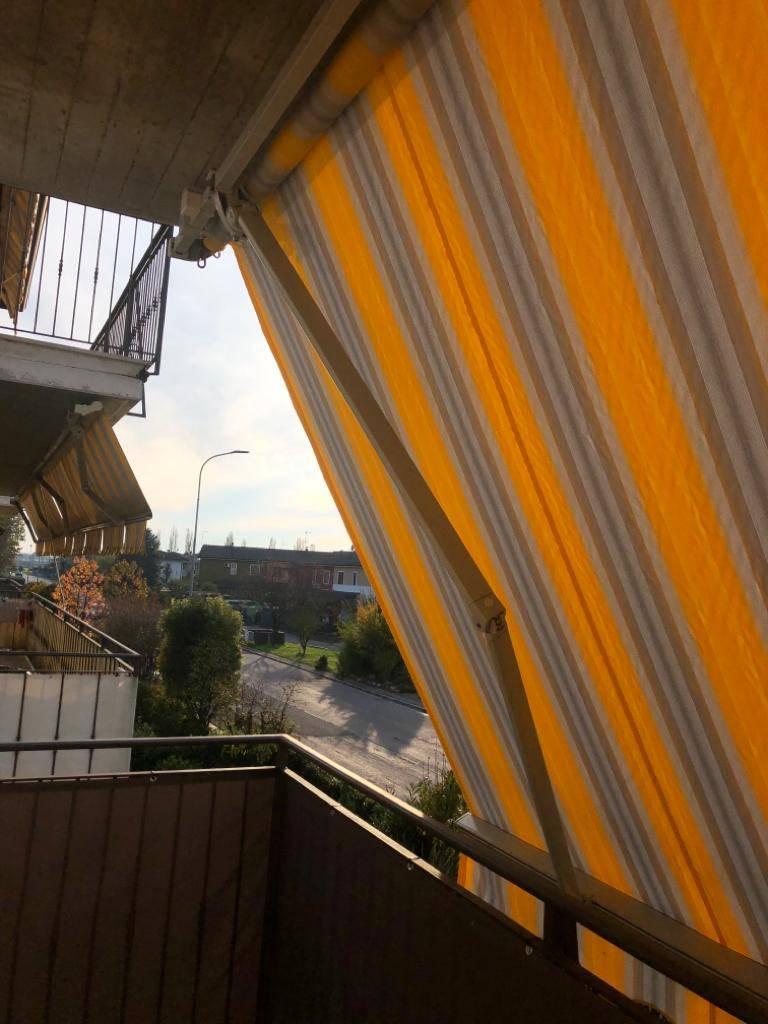 Luminoso trilocale con balconi