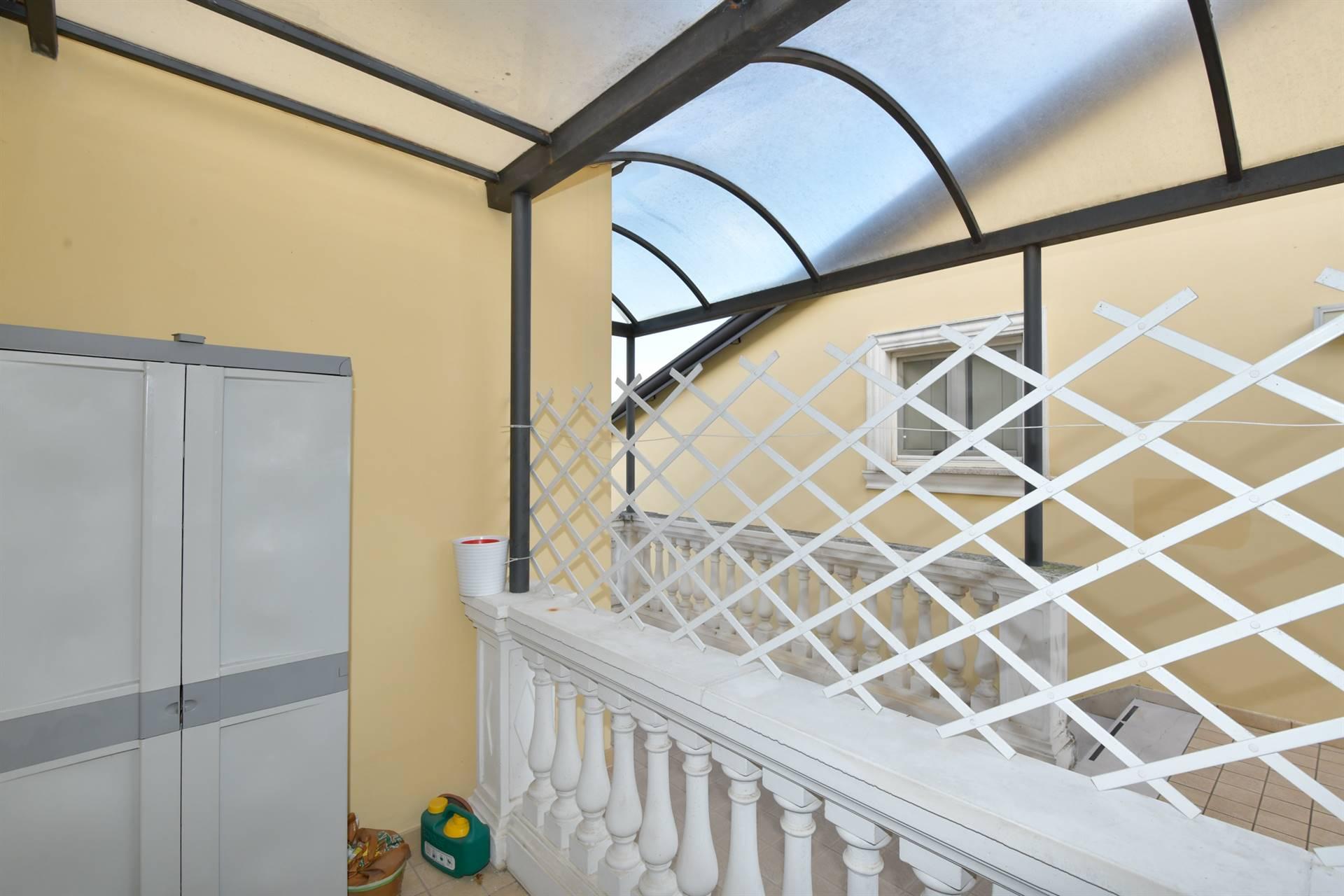 balcone coperto