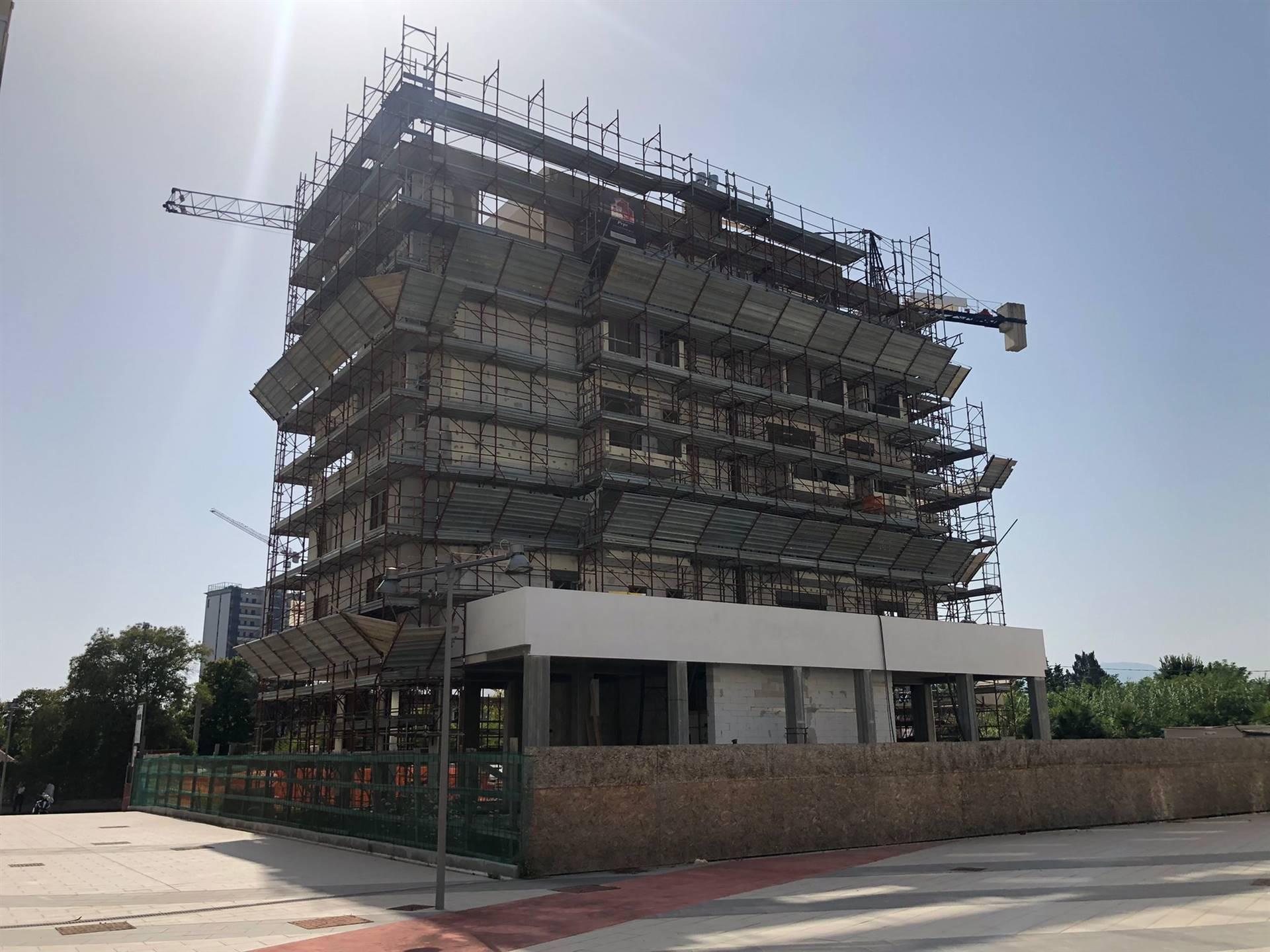 Prospetto lavori edificio