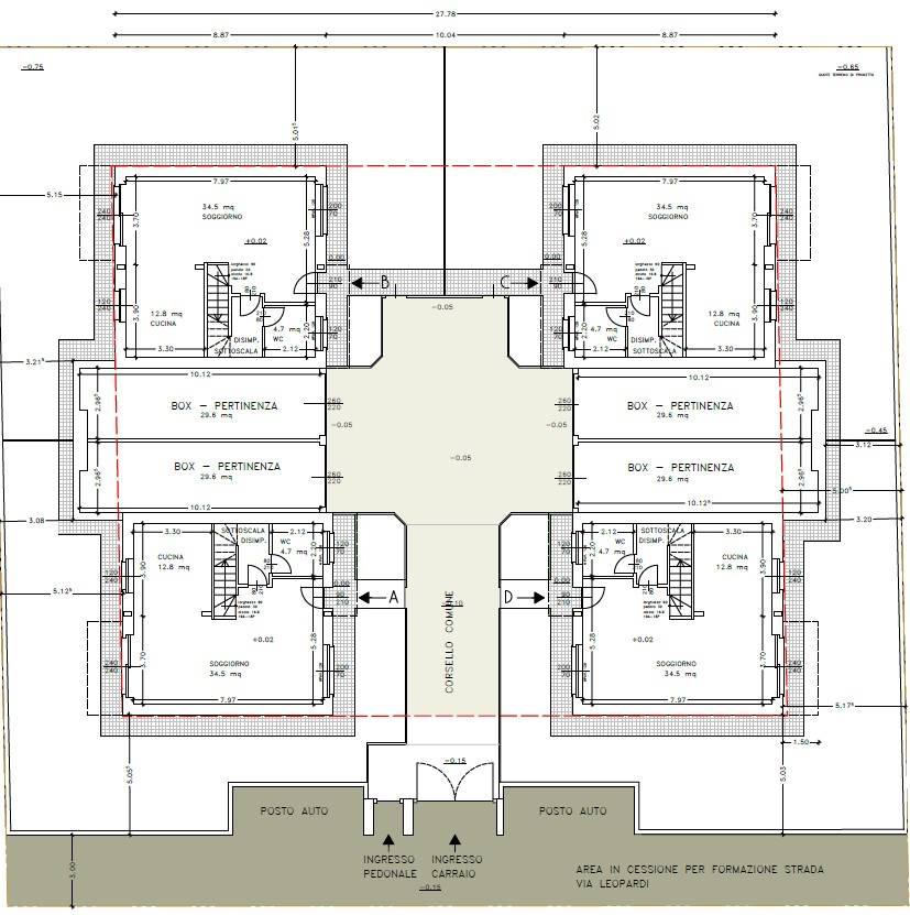 Piantina Generale - Rif. Luca 6523-2