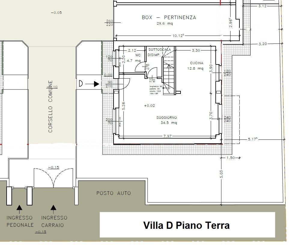 Villa D Piano Terra - Rif. Luca 6523-2