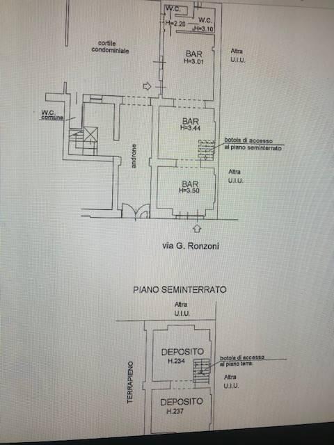 PORTA GENOVA, MILANO, Negozio in vendita di 65 Mq, Classe energetica: F, Epi: 65,3 kwh/m3 anno, posto al piano Terra su 5, composto da: 2 Vani, 2