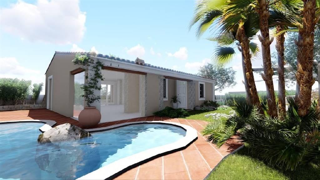 Villa, San Pantaleo, Olbia, in nuova costruzione