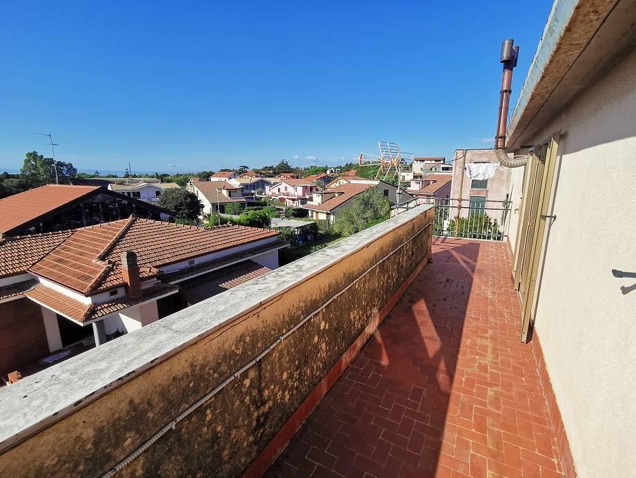 balcone mansarda
