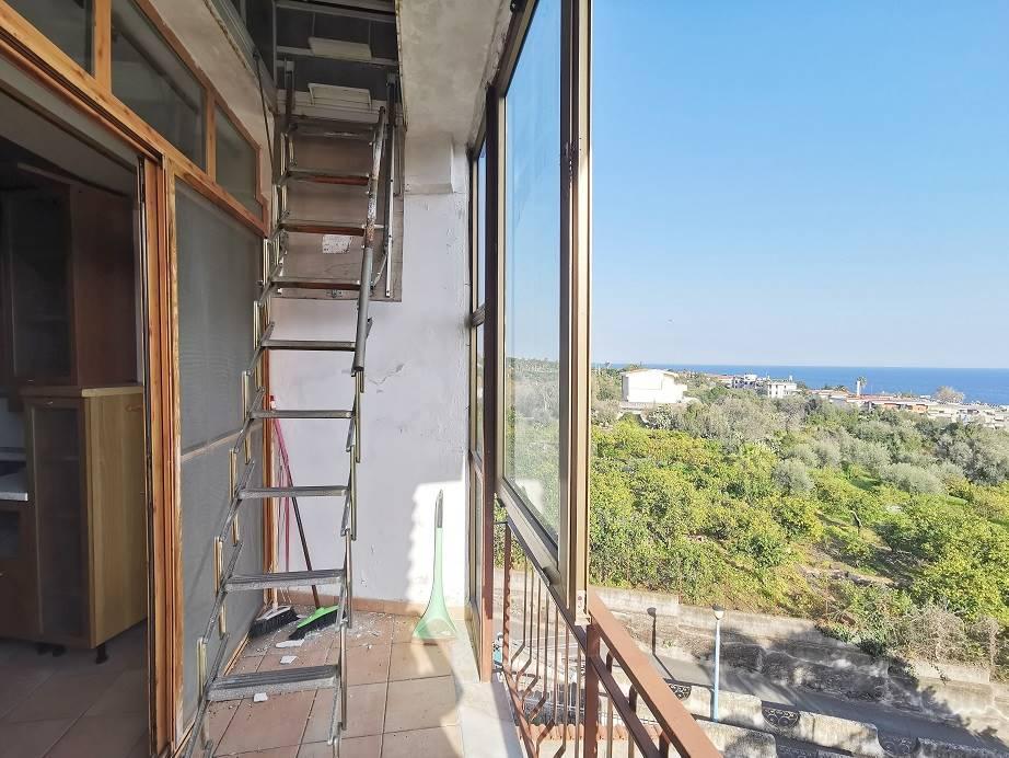scala di accesso alla terrazza