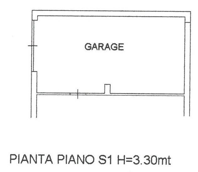 piantina garage