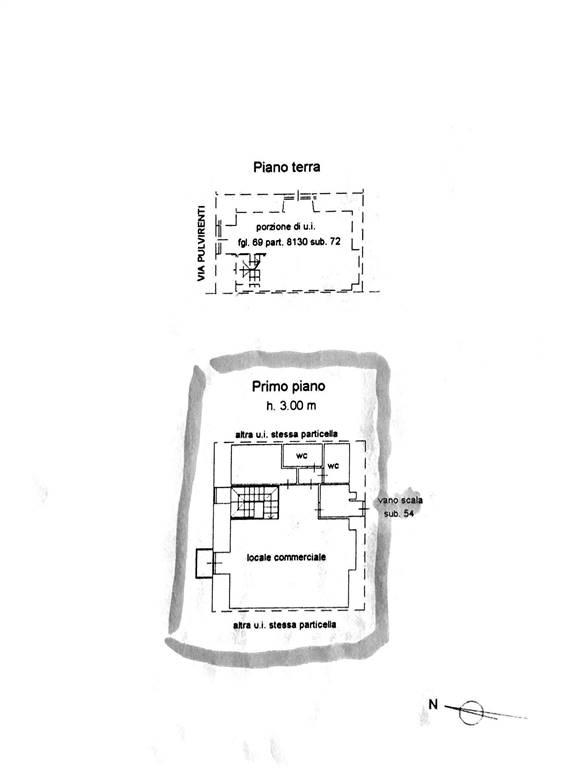 planimetria piano ammezzato