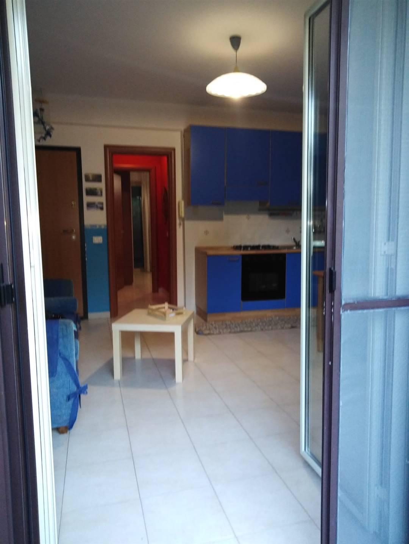 accesso al terrazzo dalla cucina