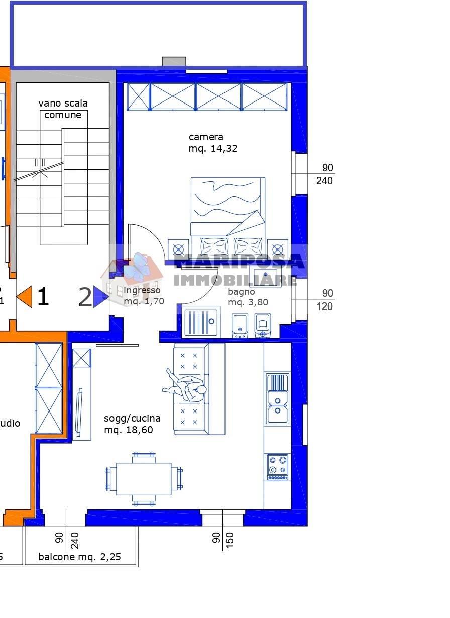 Appartamento in vendita a Sergnano, 2 locali, prezzo € 75.000 | PortaleAgenzieImmobiliari.it