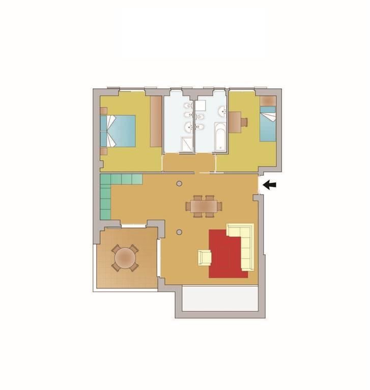 Appartamento in vendita a Ossago Lodigiano, 3 locali, prezzo € 160.000   PortaleAgenzieImmobiliari.it