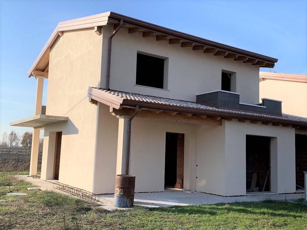 Villa Bifamiliare in vendita a Villimpenta, 5 locali, zona Località: PRADELLO, prezzo € 230.000   PortaleAgenzieImmobiliari.it