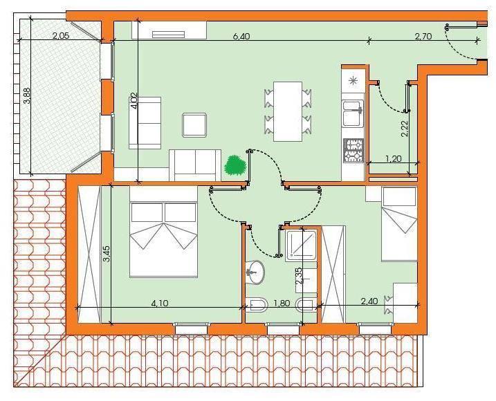 Appartamento in vendita a Roncoferraro, 3 locali, prezzo € 99.000 | CambioCasa.it