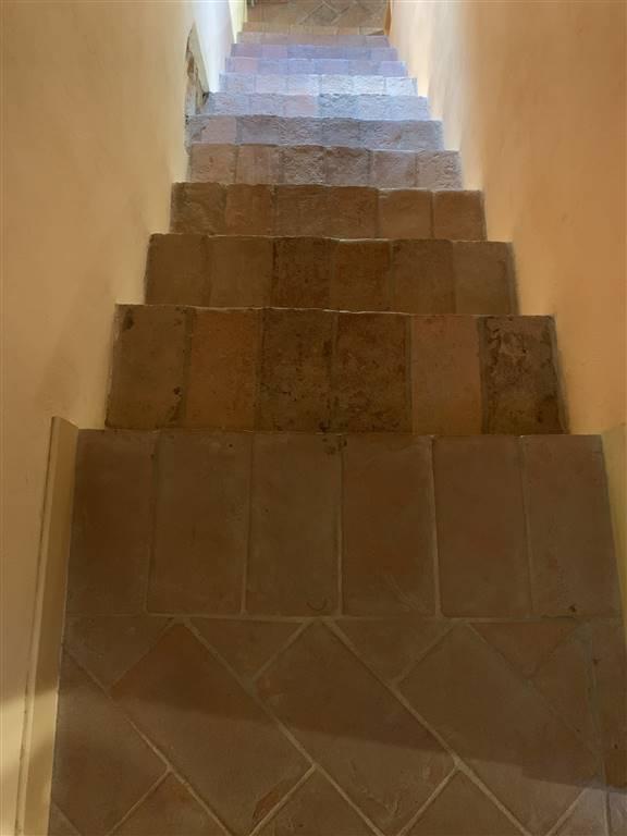 scala in cotto antico originale