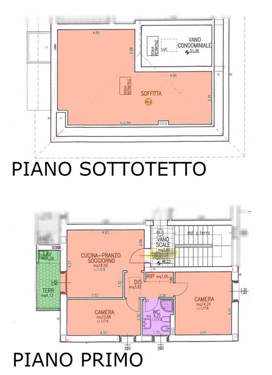 PLAN P1 + SOFFITTA