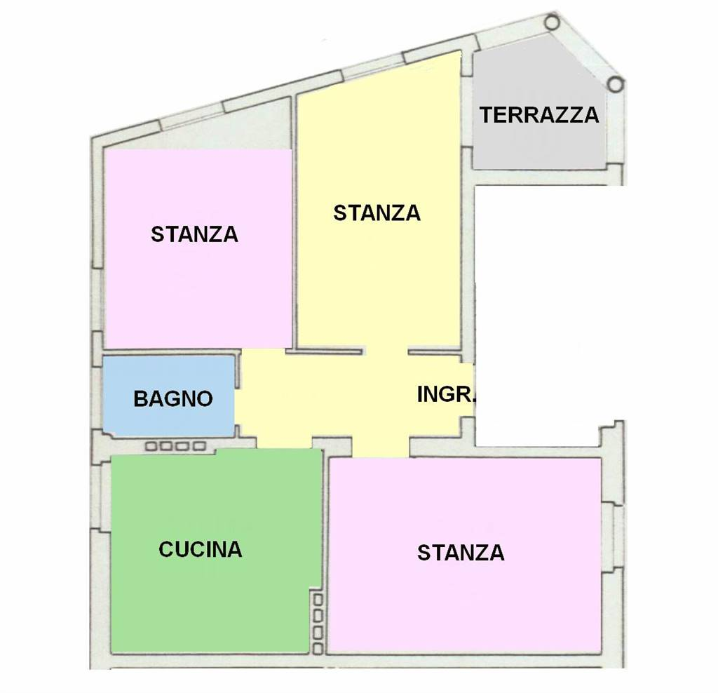 GRIES, BOLZANO, Apartment for sale of 107 Sq. mt., Good condition, Heating Centralized, Energetic class: G, placed at 2°, composed by: 3 Rooms,