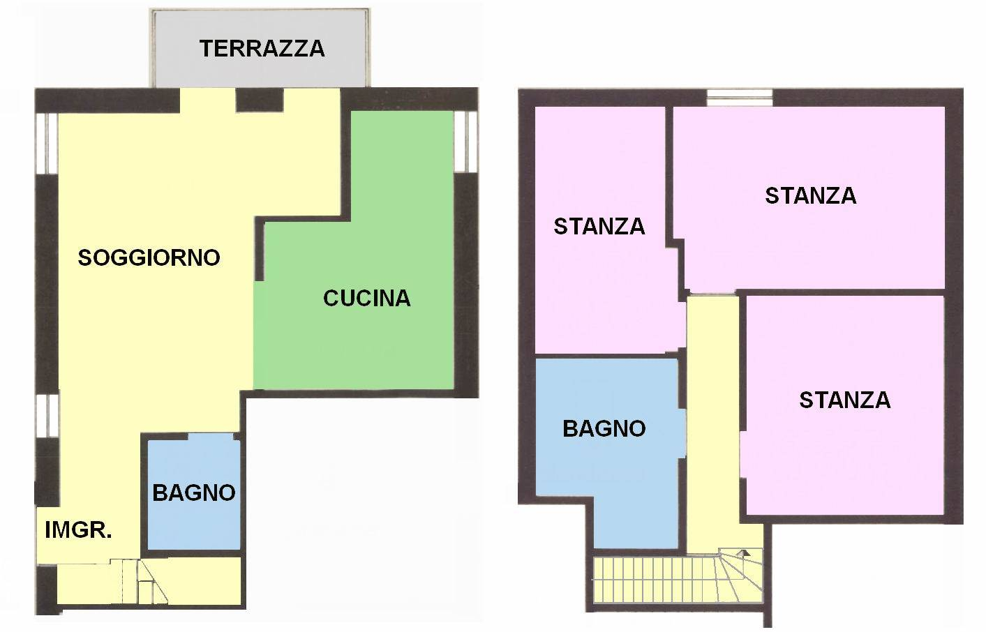 PERIFERIA, BOLZANO, Apartment for sale of 126 Sq. mt., Restored, Heating Individual heating system, Energetic class: G, placed at 1°, composed by: 4