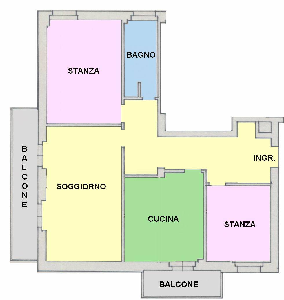 GRIES, BOLZANO, Apartment for sale of 96 Sq. mt., Excellent Condition, Heating Centralized, Energetic class: G, placed at 2°, composed by: 3 Rooms,