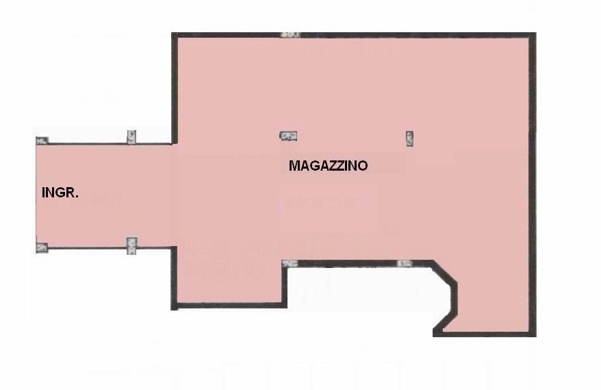 PERIFERIA, BOLZANO, Warehouse for sale of 200 Sq. mt., Good condition, Energetic class: G, placed at Buried, composed by: 1 Room, 1 Bathroom, Price: