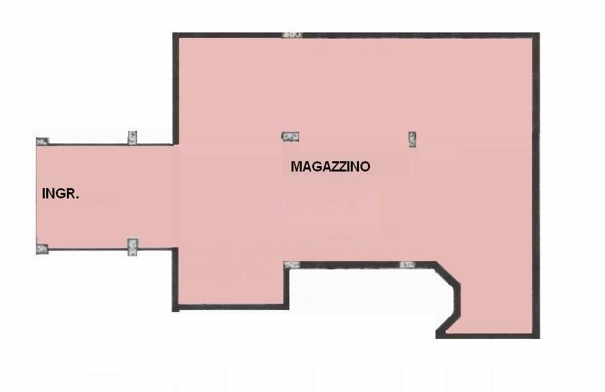 Vendesi magazzino di 200 mq al piano interrato in via Resia, bagno - accessibile da camper e/o furgoni 200 Qm großes Lager im 1. Untergeschoss in der