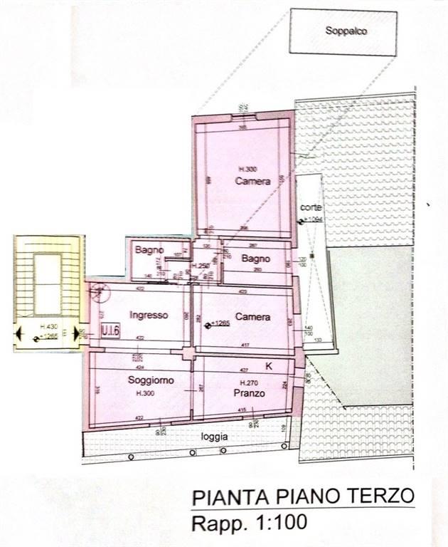 Attico / Mansarda in vendita a Prato, 4 locali, zona ro storico, prezzo € 290.000   PortaleAgenzieImmobiliari.it