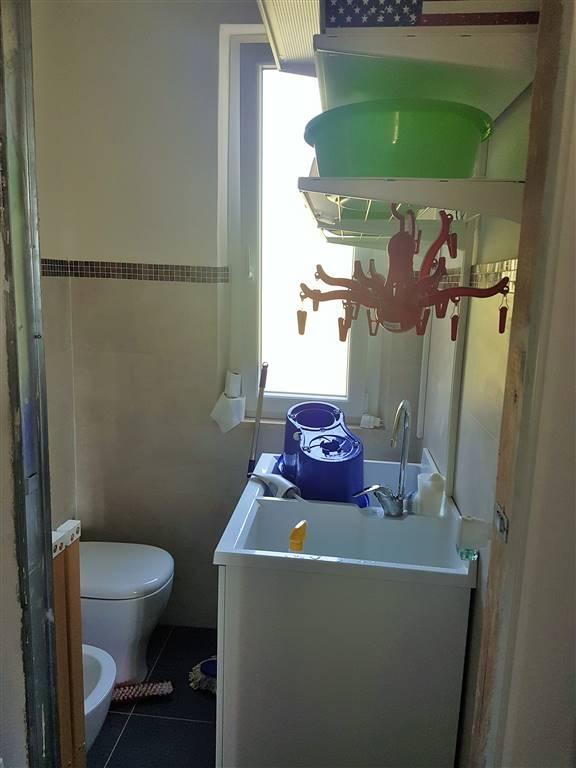 bagno di servizio al piano terra ad uso lavanderia