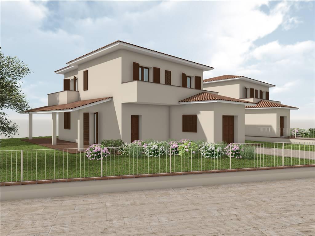 CANTAGRILLO, SERRAVALLE PISTOIESE, Villa in vendita di 160 Mq, Nuova costruzione, Riscaldamento a pavimento, Classe energetica: A+, composto da: 6