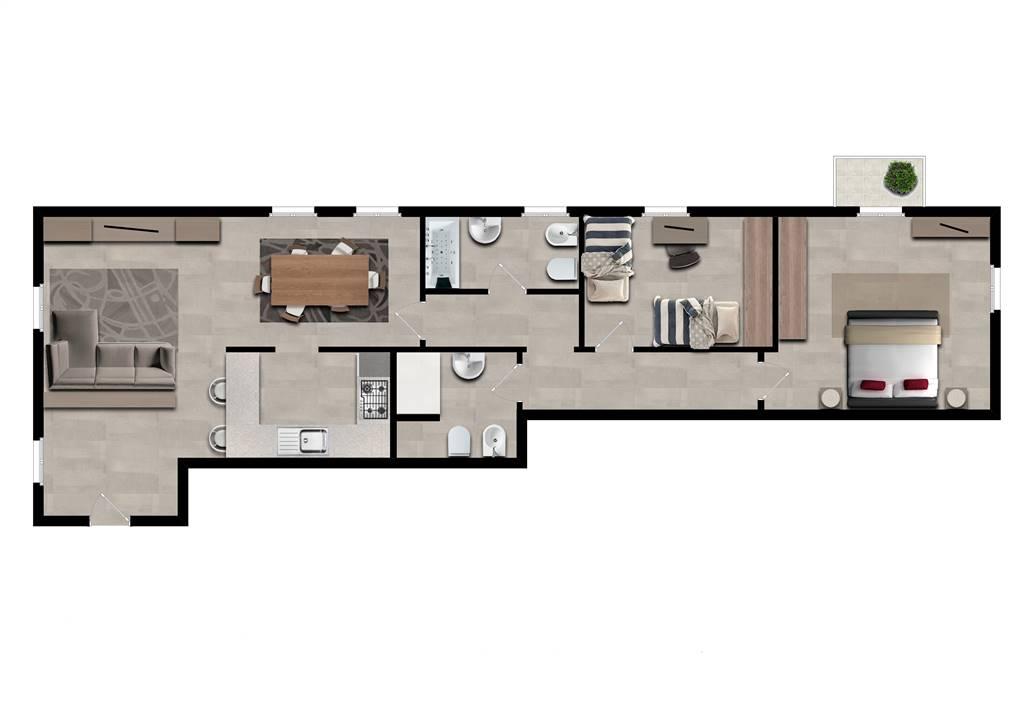 Appartamento in Via Cimarosa  4, Toscana,s. Ruffillo, Bologna