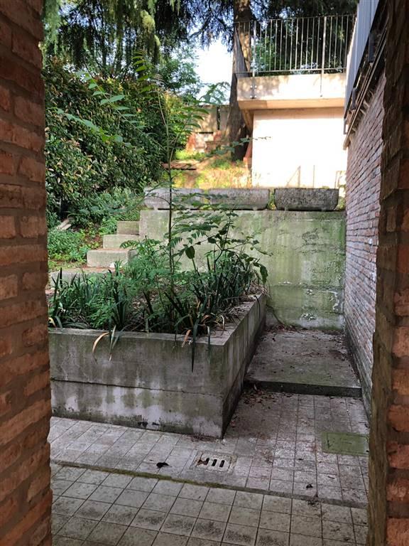 porta che dà sul giardino