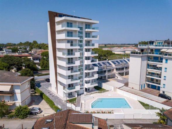LIDO DI JESOLO, JESOLO, Wohnung zu verkaufen von 70 Qm, Neubau, Heizung Unabhaengig, Energie-klasse: A, am boden 7° auf 9, zusammengestellt von: 4