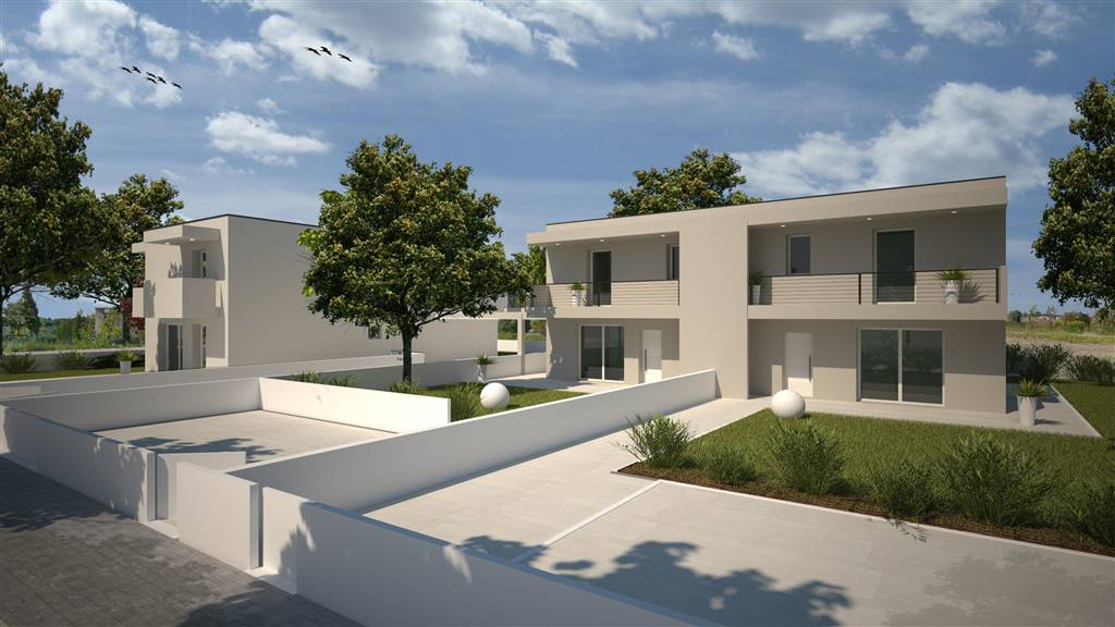 LIDO DI JESOLO, JESOLO, Duplex villa for sale of 100 Sq. mt., New construction, Heating To floor, Energetic class: A4, placed at Ground, composed by: