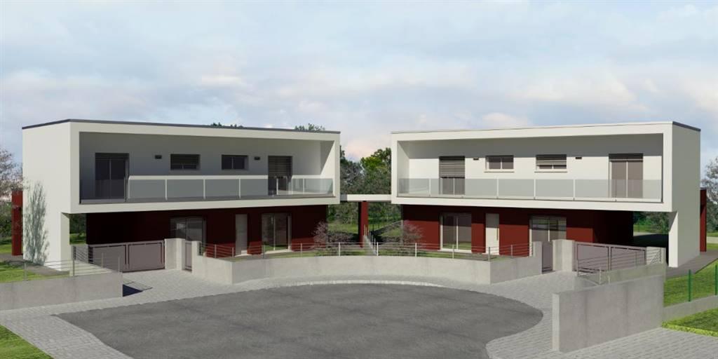 Casa semi indipendente, Azzano Decimo, in nuova costruzione