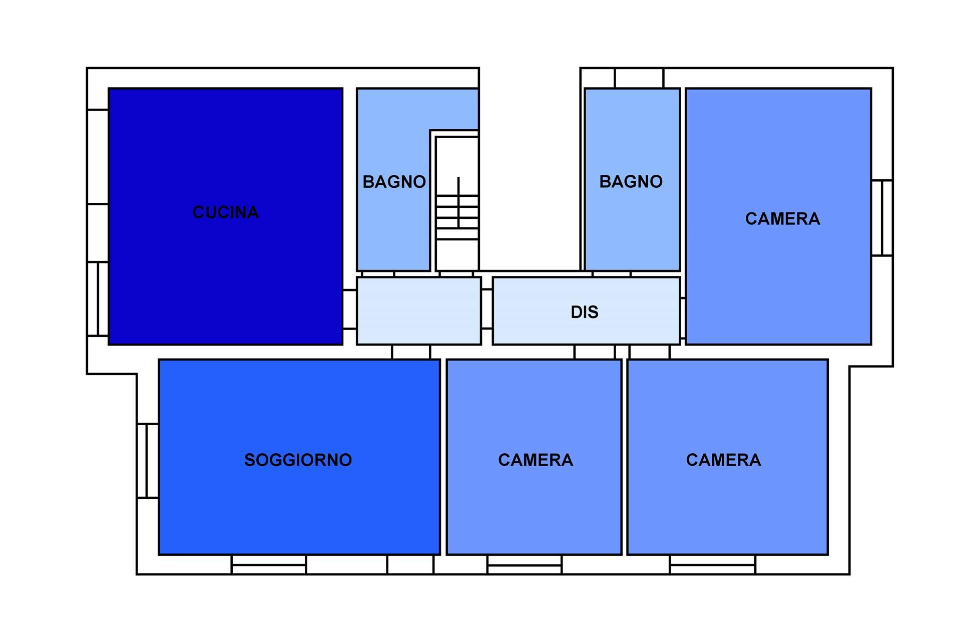 CHIRIGNAGO, VENEZIA, Duplex villa for rent of 150 Sq. mt., Restored, Heating Individual heating system, Energetic class: B, Epi: 73,8 kwh/m2 year,