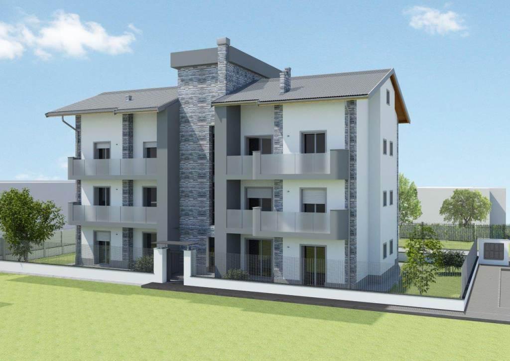 Trilocale, Macherio, in nuova costruzione
