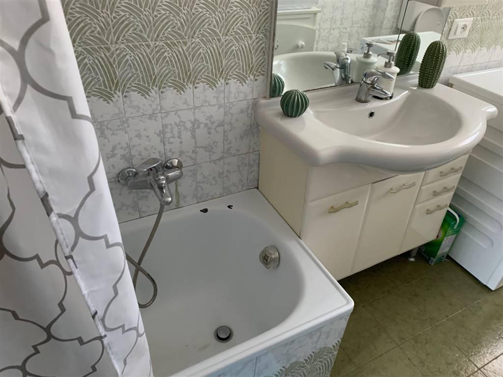 bagno con vasca appartamento centrale Mestre