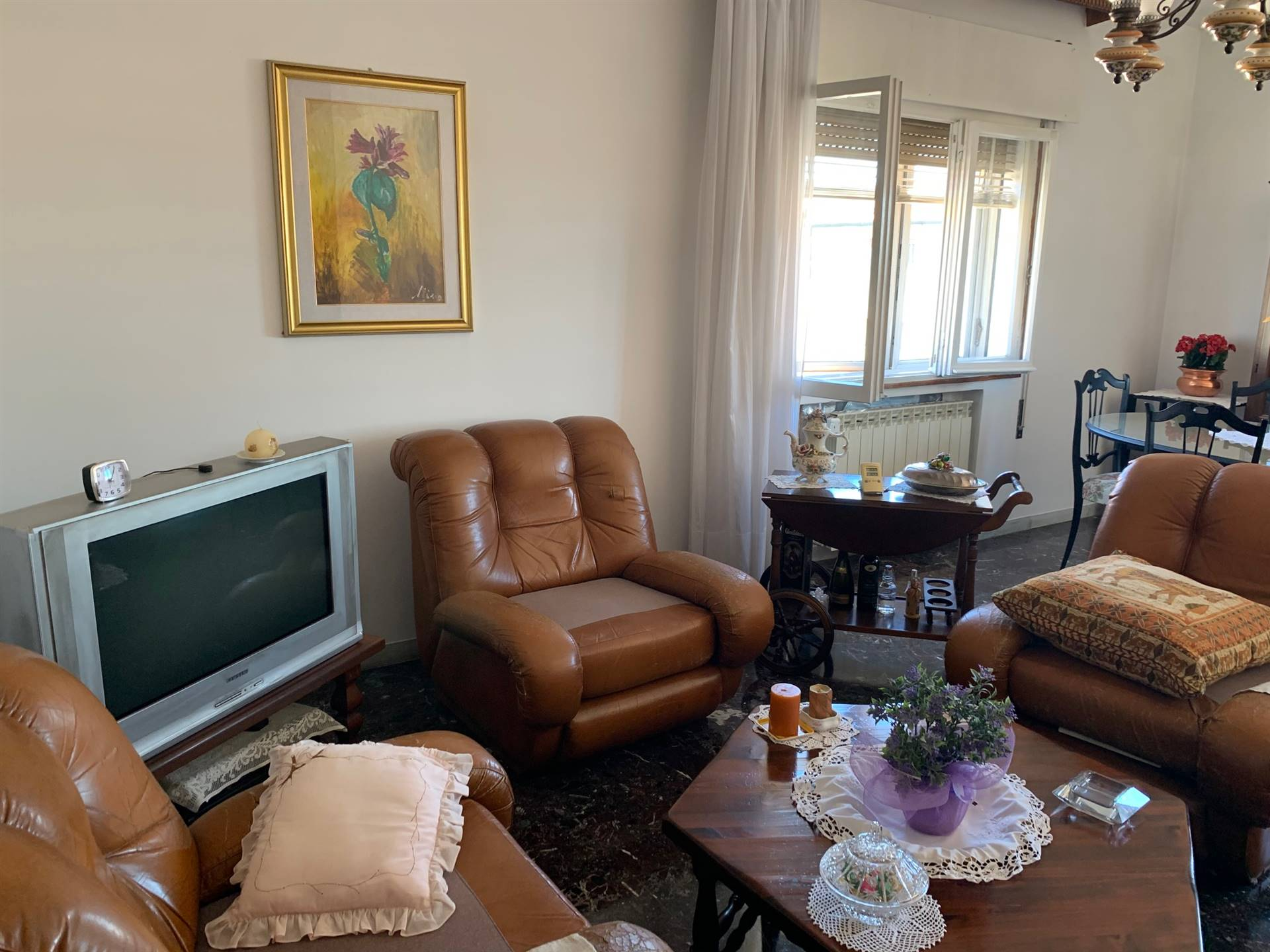 soggiorno  appartamento Mestre parco Bisssuola