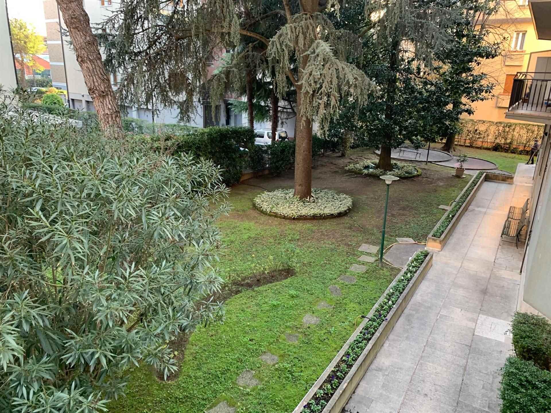 giardino condominiale terrazza MKestre affitto