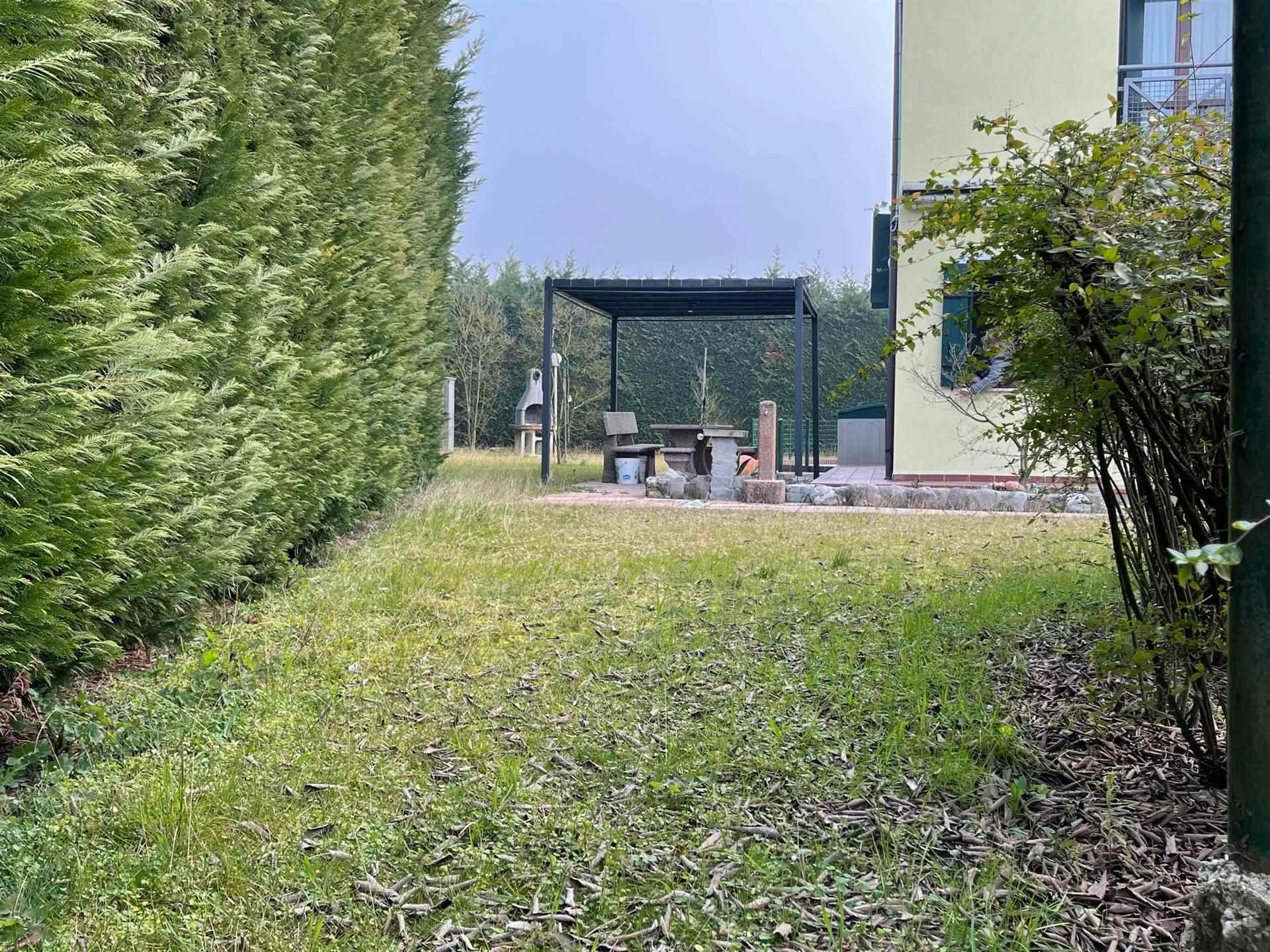 giardino con pompeiana villetta Cà di Valle