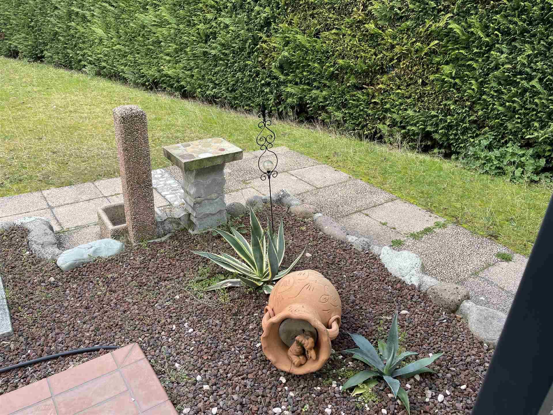 giardino esclusivo Cà di Valle villetta vendita