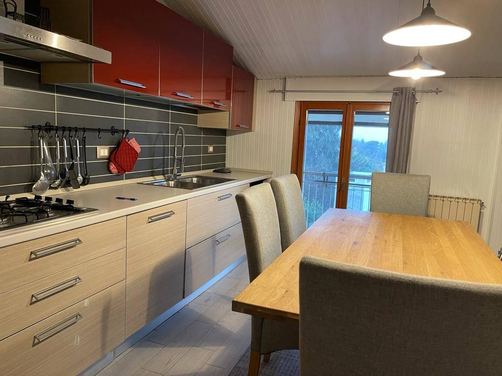 cucina affittasi bicamera Trivignano con posto aut