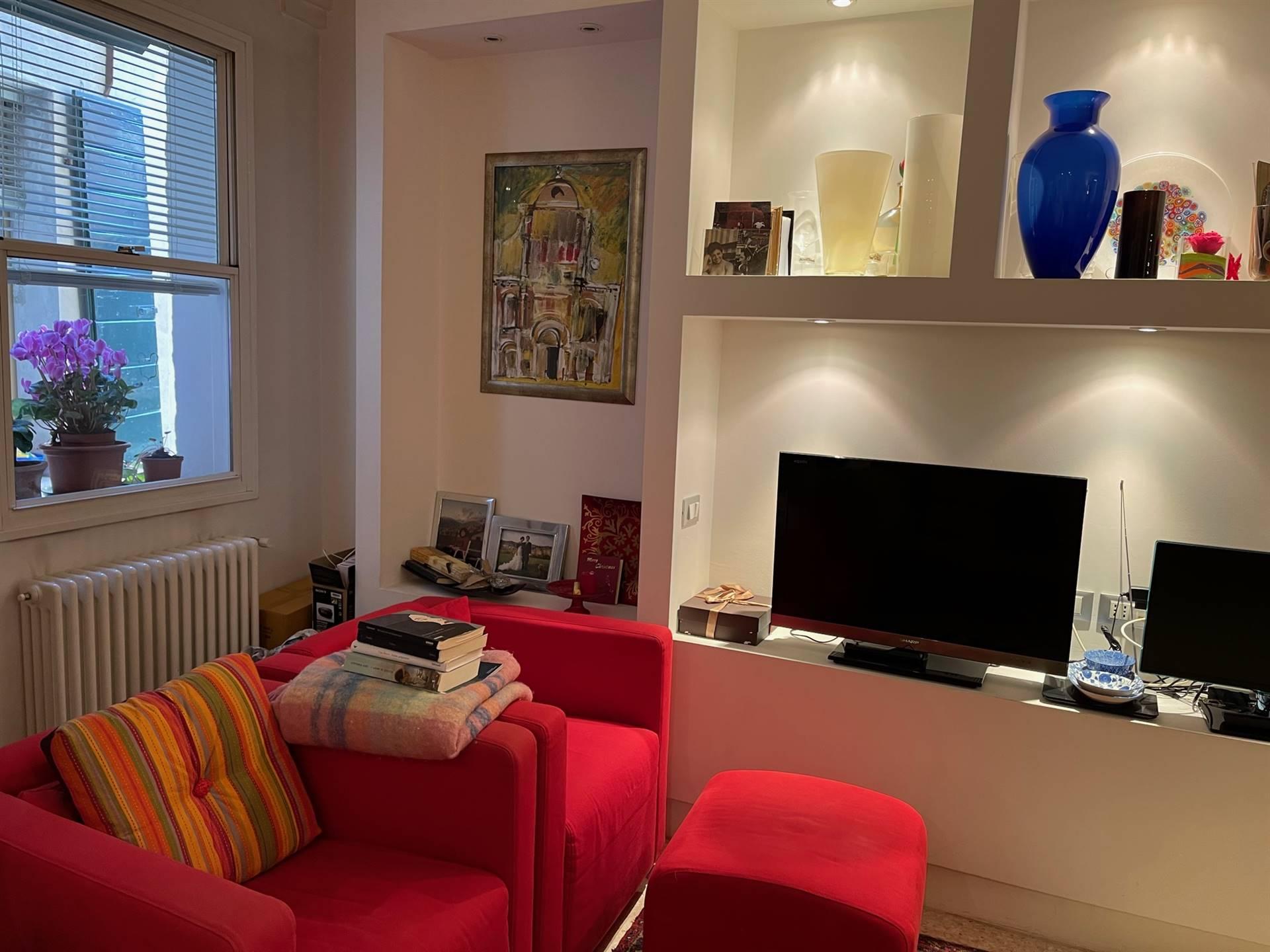 soggiorno Venezia appartamento 140 mq.